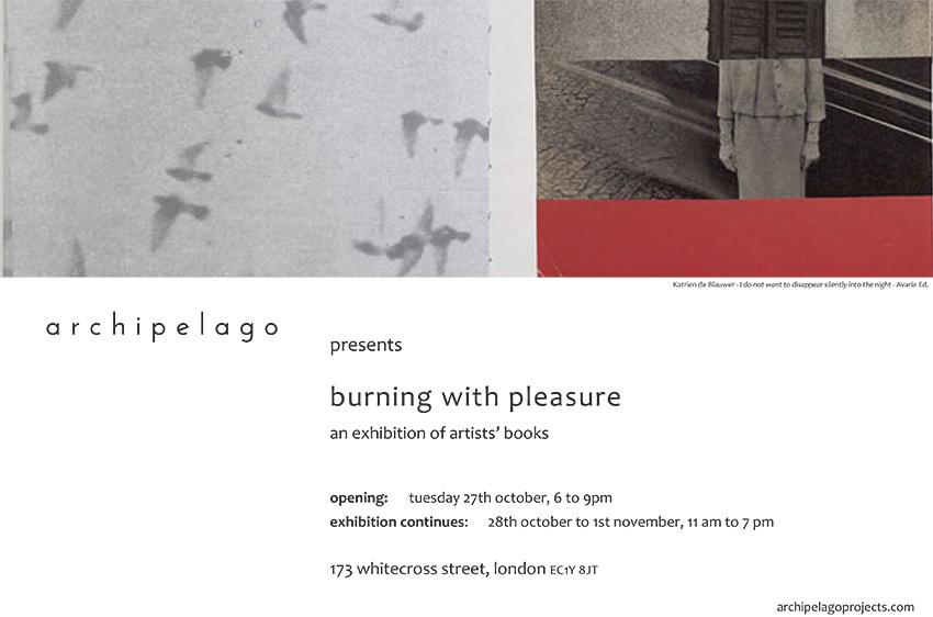 burning with pleasure Invite